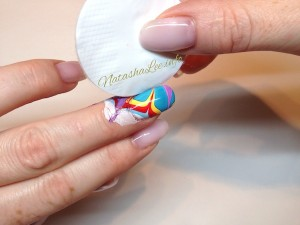 How To Clean The Polish Off The Skin When Water Marbling
