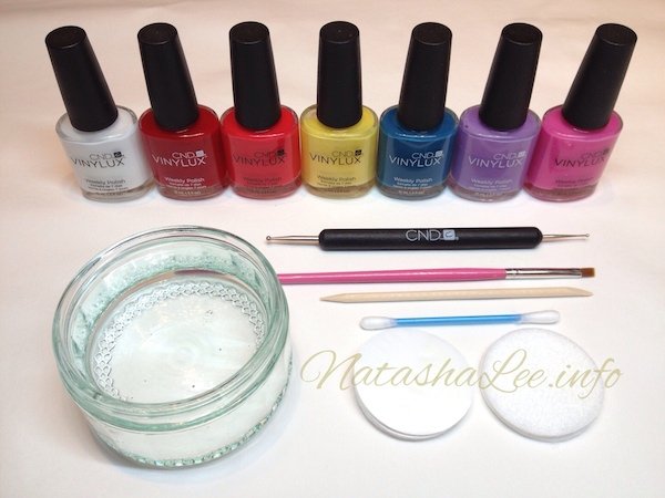 Easy water marble nail art with nail polish natasha lee tools for easy water marble nail art prinsesfo Gallery