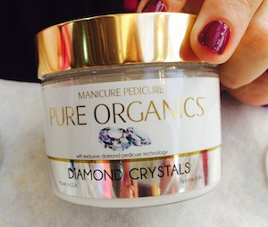 Pure Organics Diamond Crystals