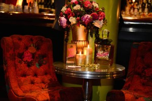 Crimson Bar Gold Couture