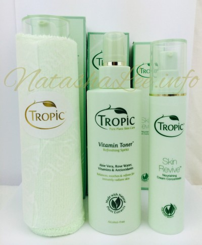 Tropic Skincare Cleanser Toner and Moisturiser. How when ...