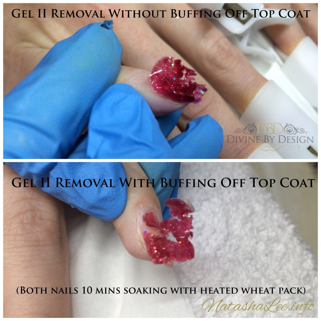 Gel II Removal Filing