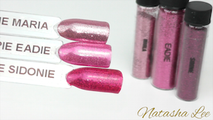 Magpie Glitter Nail Art Pink