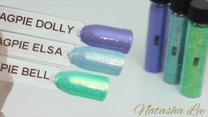 Magpie Glitter Nail Art Iridescent