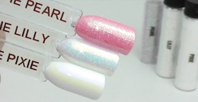 Mother of pearl opal iridescent nail glitter