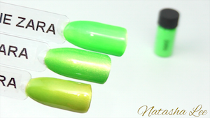 green magpie neon nail pigments