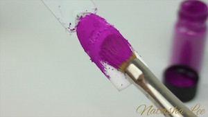 how to use nail pigments