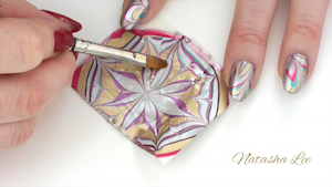 Water Marble Nail Art Chrome For Fingers Toes Natasha Lee