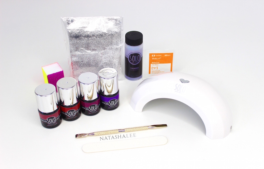SOLO One-Step Home Gel Manicure Kit Review & Tutorial - Natasha Lee