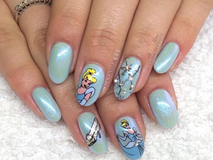 Cinderella Nail Art BBF Stamping Plate