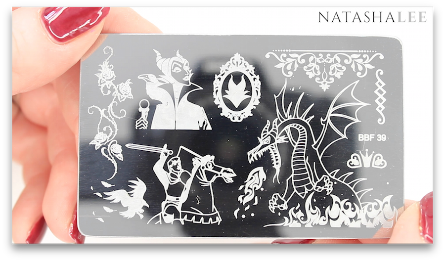 Bbf Stamping Plate Review Disney Simpsons Halloween Christmas