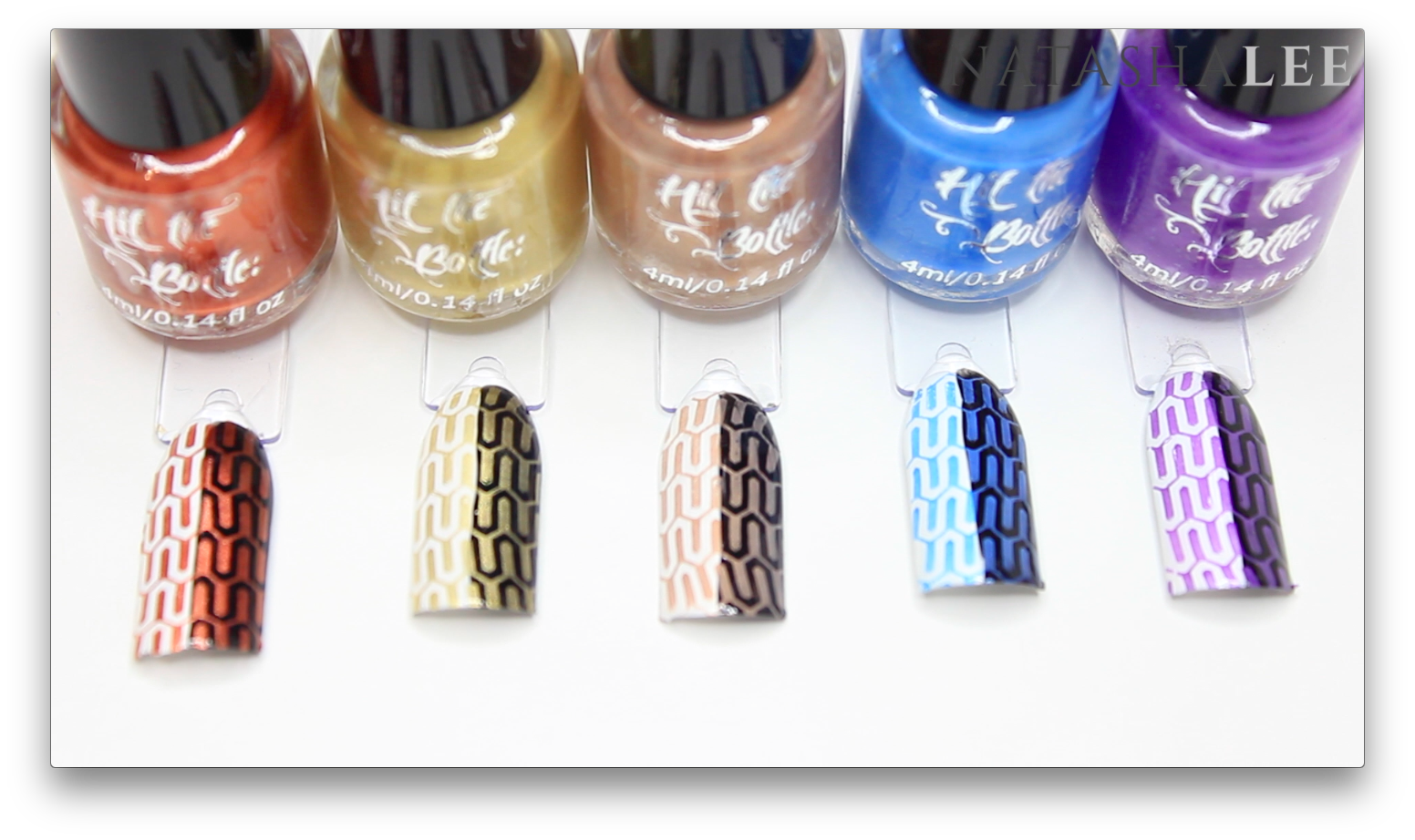 hit the bottle stamping polish
