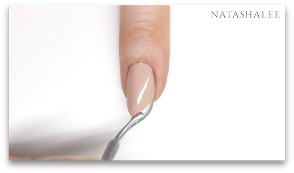silver tip french manicure