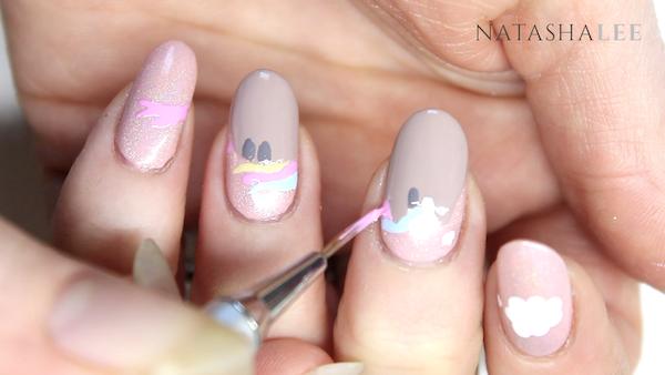 pusheenicorn nail art nails