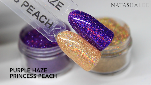holo glitter swatches for nails