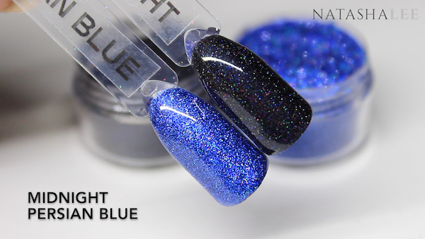 holo nail glitter swatches