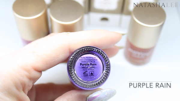 moyou london stamping polish review purple rain
