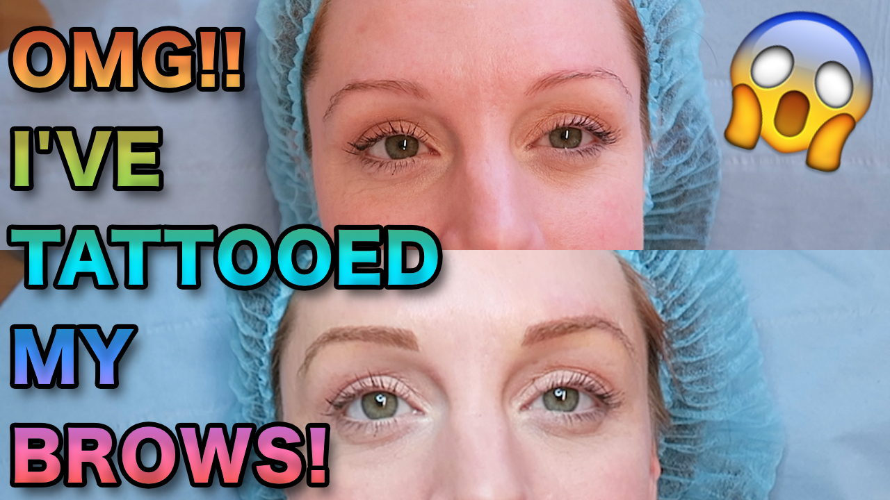 The Truth About Semi Permanenttattooed Eyebrows Natasha Lee