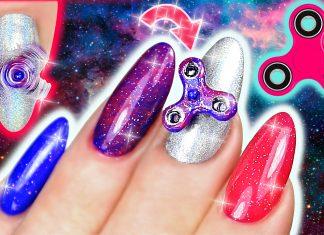 mini Finger Spinner nails