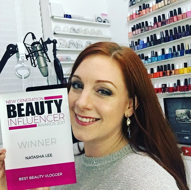 Best beauty vlogger award youtube