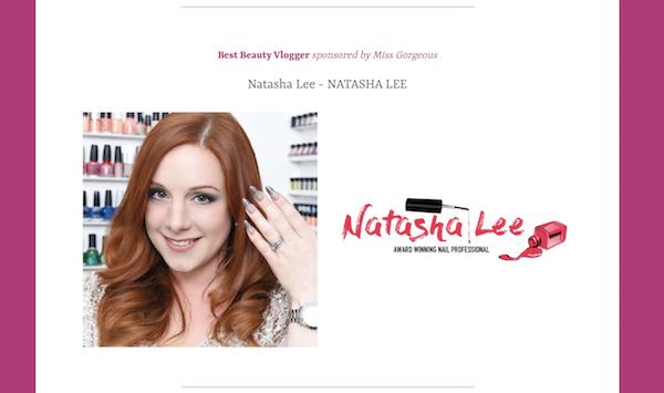 best beauty vlogger natasha lee nails