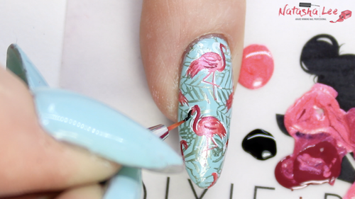 Tropical Summer Nailart Step 4 Best Nail Blogger